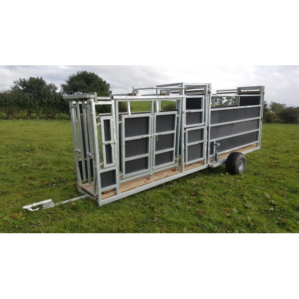 Mobile Cattle Handling System