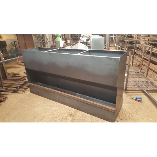 8ft cattle grain hopper